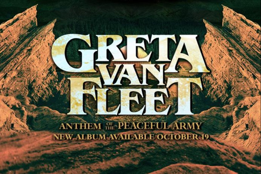 "Greta Van Fleet sort son 1er album studio ""Anthem of the Peaceful Army"" le 19 octobre 2018"