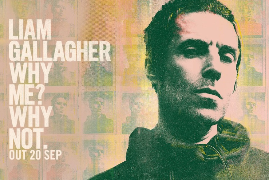 "Liam Gallagher dans les bacs le 20 septembre avec son second album ""Why Me? Why Not."""